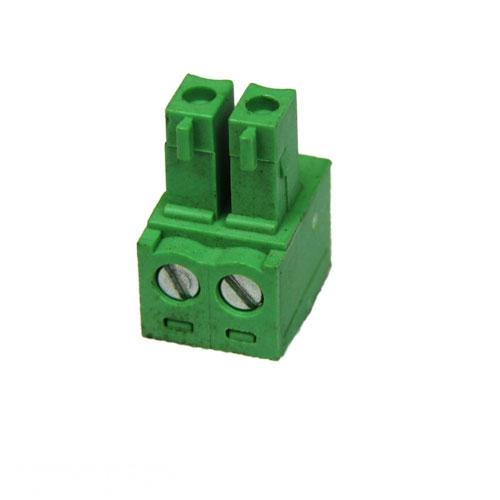 Green Connector 5.08mm Pitch L-Type Top Feed 2 Way PCB Cable Terminal Block, 2Pin Plug in Screw (AE-BLOCK/508/2) R37.27 excl.