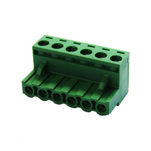 5.08mm Pitch 6 Way L-Type Top Feed PCB Cable Terminal Block, 6Pin Plug in Screw, for Laser Power Supply Data Connector (Green) (AE-BLOCK/508/6) R113.44 excl.