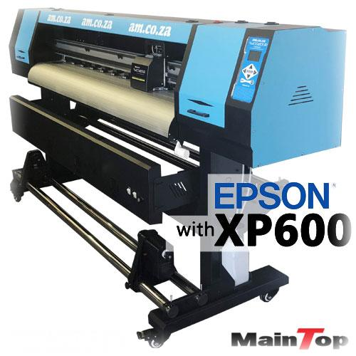 FastCOLOUR Lite 1600mm EPSON XP600 Printhead Budget Solvent/Water Ink Inkjet Wide-Format Printer, MainTop RIP Software (F-1603/XP600) R69559 excl.