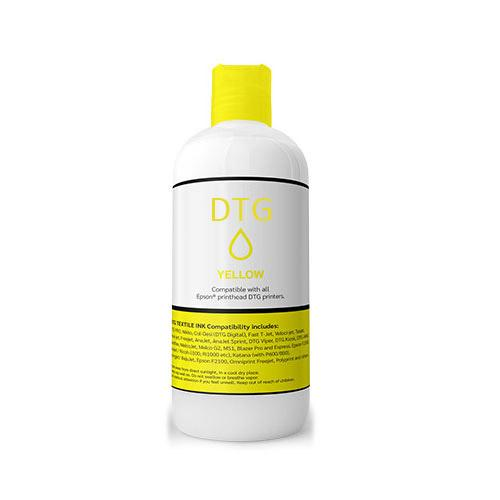 Yellow Colour Water-Based DTG Pigment Ink 1 Litre Bottle (F-DTG/YELLOW) R1599 excl.
