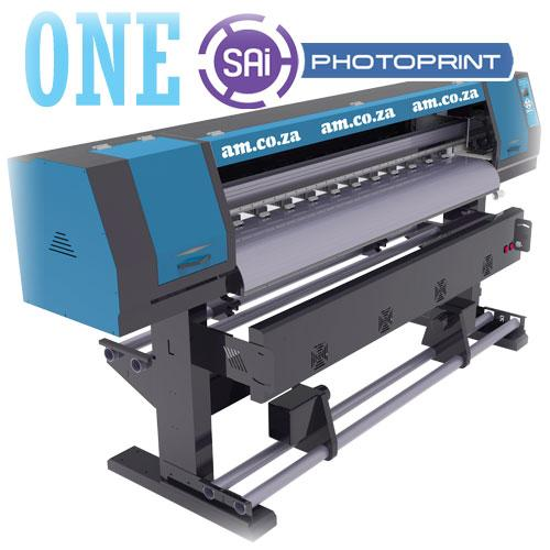 FastCOLOUR ONE 1600mm Printing Area Large Format Printer, SAi FlexiPRINT Software, No Printhead Included, No Inks (F1-1604) R64399 excl.