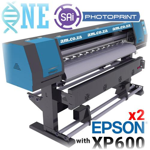 FastCOLOUR ONE 1600mm Printing Area Large Format Printer, Two EPSON XP600 Printheads & SAi FlexiPRINT Software, No Inks (F1-1604D/XP600) R102769 excl.