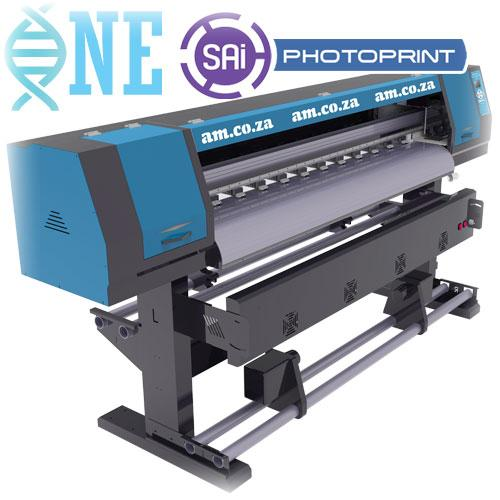 FastCOLOUR ONE 1600mm Printing Area Double Printhead Large Format Printer, SAi FlexiPRINT Software, No Printhead Included, No Inks (F1-1604D) R83699 excl.