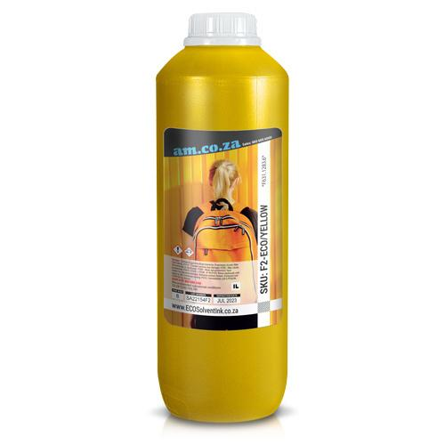 Premium Yellow Colour ECO-Solvent Ink 1 Litre Bottle, F631.1283 (F2-ECO/YELLOW) R515.83 excl.