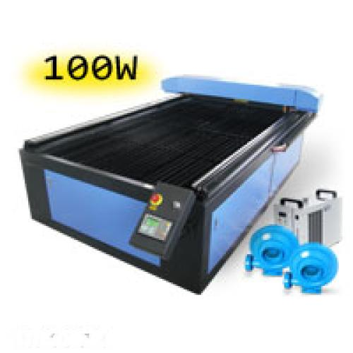 TruCUT Standard Range 1300x2500mm Flatbed Type Laser Cutting & Engraving Machine, 100W COsub2/sub Laser Tube Complete Package (LC-1325/100) R154159 excl.