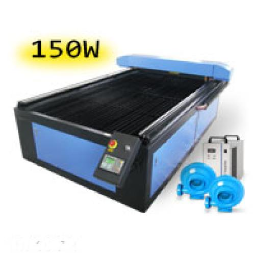 TruCUT Standard Range 1300x2500mm Flatbed Type Laser Cutting & Engraving Machine, Premium 150W COsub2/sub Laser Tube Complete Package (LC-1325/150) R173349 excl.
