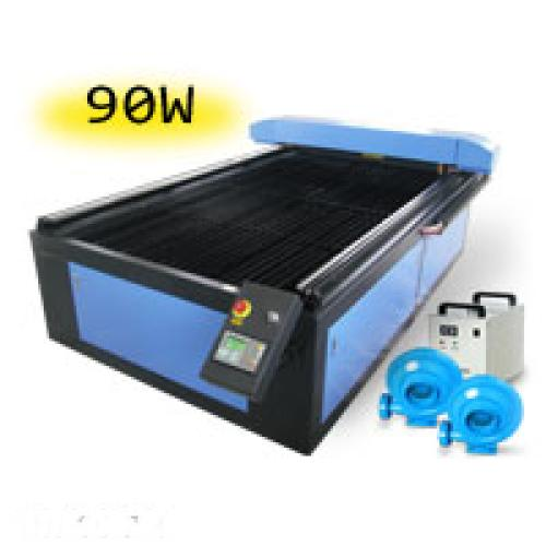 TruCUT Standard Range 1300x2500mm Flatbed Type Laser Cutting & Engraving Machine, Premium 90W COsub2/sub Laser Tube Complete Package (LC-1325/90) R148179 excl.
