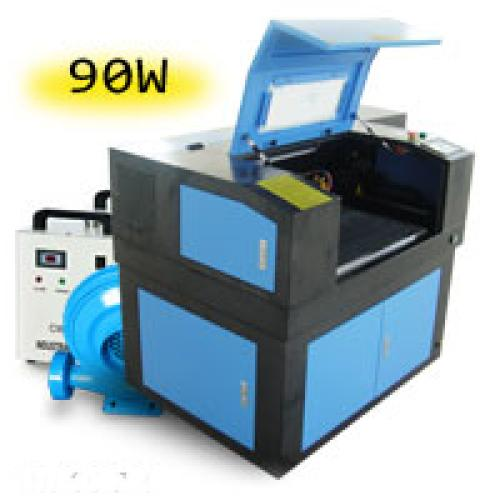 TruCUT Standard Range 600x400mm Cabinet Type Laser Cutting & Engraving Machine, Premium 90W COsub2/sub Laser Tube Complete Package (LC-6040/90) R98179 excl.